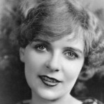 Black and White portrait of silent film actress Blanche Sweet