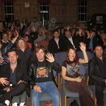 The audience at the Cosy Comedy Club
