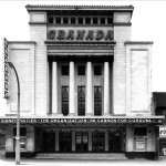 Frontage of the Granada Cinema, Tooting, c.1972