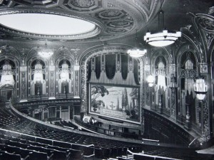 The auditorium of the Trocadero Super Cinema at Elephant & Castle