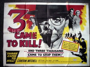 Poster for 3 Came to Kill