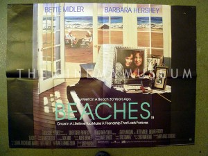 A poster for Beaches