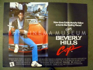 A poster for Beverly Hills Cop