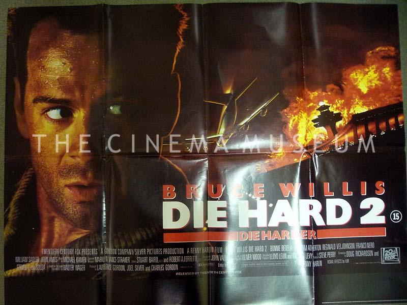 Die Hard 2 1990 Posters Shop The Cinema Museum London