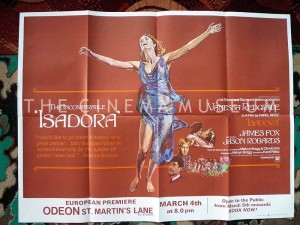 A poster for Isadora