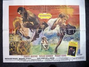 A poster for Mandingo