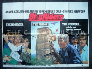 A poster for Sky Riders