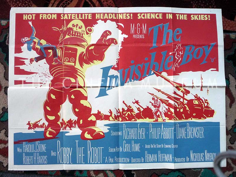 the invisible boy 1957 posters shop the cinema museum london