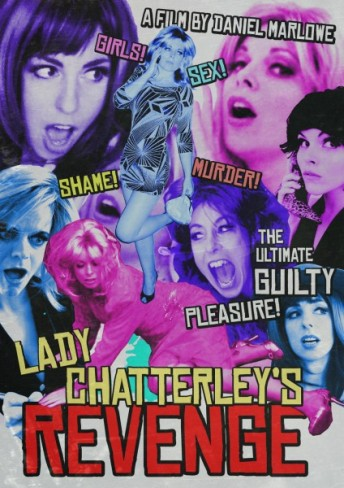 B-movie style poster for Lady Chatterley's Revenge