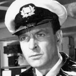 A Uniformed Donald Sinden in The Cruel Sea