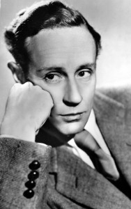 Leslie Howard publicity shot