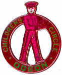 Odeon children's club badge