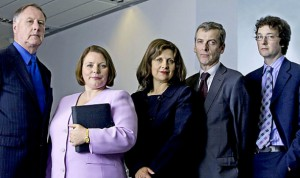 publicity photo for The Thick Of It