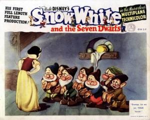Snow White lobby card
