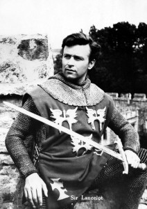 William Russell as Sir Lancelot