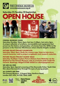poster for Open House at Cinema Museum