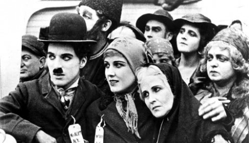 Chaplin in The Immigrant (1917)