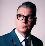 Head and shoulder portrait of Mark Kermode