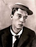 Head and shoulders portrait of Buster Keaton