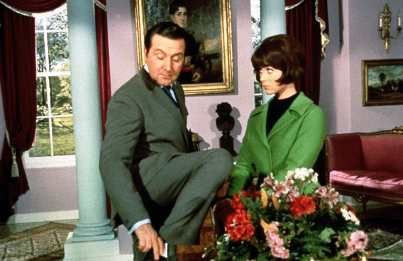 An evening with linda thorson the cinema museum london patrick macnee and linda thorson in the avengers thecheapjerseys Images