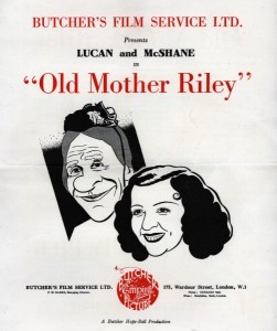 Old Mother Riley poster