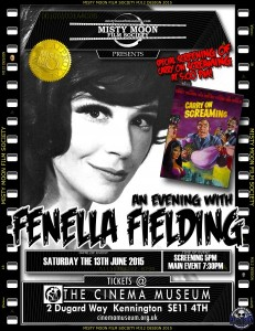 Fenella Fielding poster
