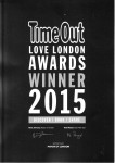 Time Out Award