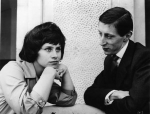 Murray Melvin with Rita Tushingham in A Taste of Honey