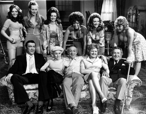 Cast of Carry On Girls
