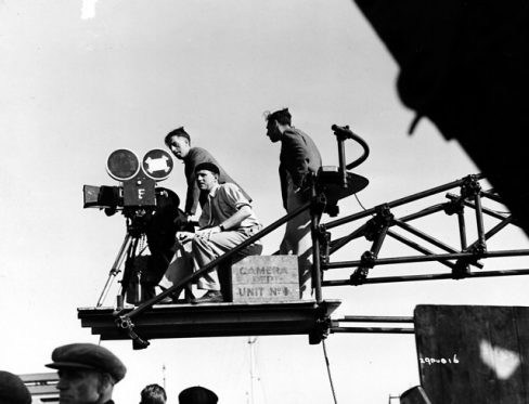Michael Powell directing
