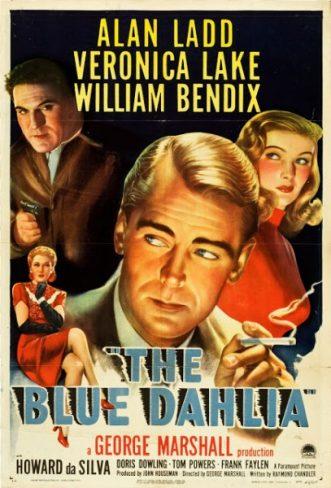 The Blue Dahlia poster