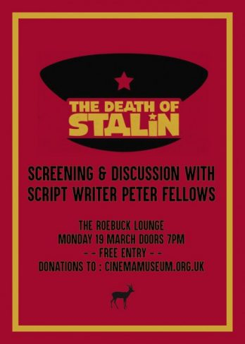 The Death of Stalin at The Roebuck