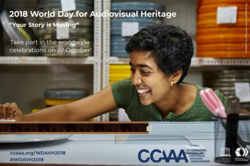 World Day For Audiovisual Heritage 2018