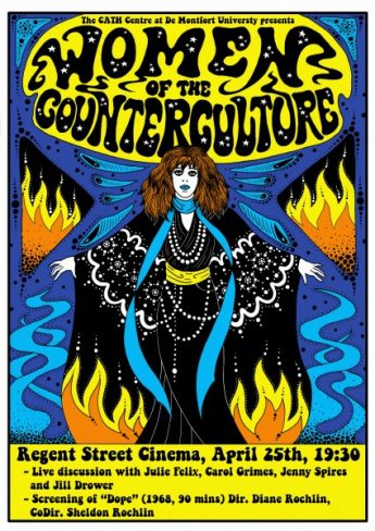 Women of the Counterculture poster