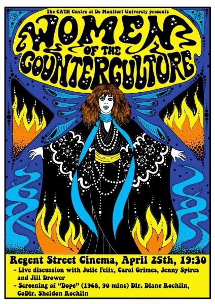 ad4ad4cb9f70d Women of the Counterculture, Regent Street Cinema, 7.30pm, 25th ...