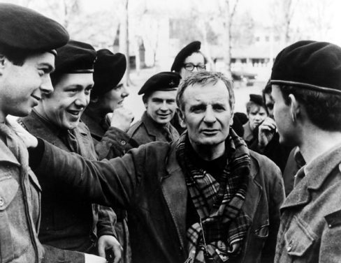 Lindsay Anderson directing if…. with David Wood behind