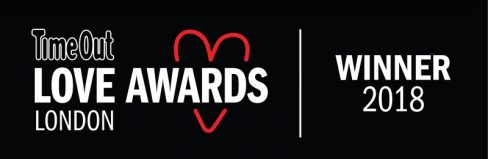 Time Out Love London Awards Winner 2018