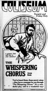 The Whispering Chorus poster