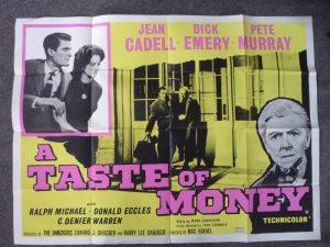 A Taste of Money POS0769