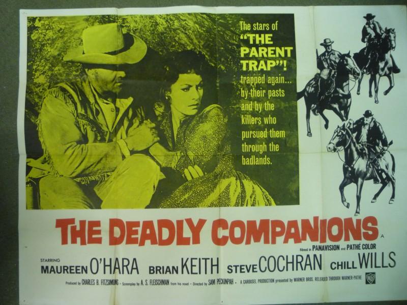 The deadly companions Maureen O/'Hara movie poster