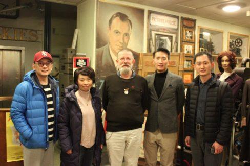 Shanghai Film Museum delegation