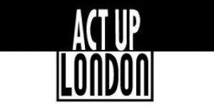 Act Up: London logo