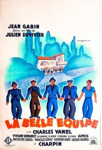 La Belle Equipe poster