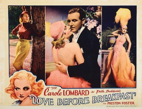 Love Before Breakfast poster