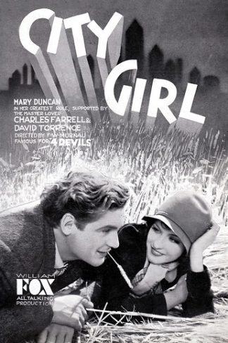 City Girl -poster