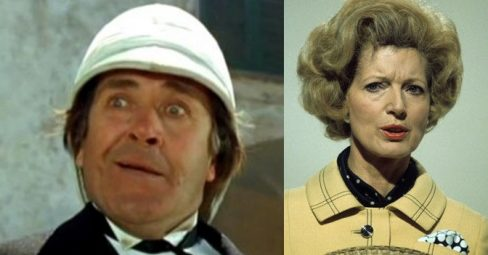 Peter Butterworth and Janet Brown