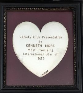 Kenneth More Variety Club award