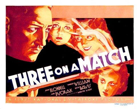 Three on a Match poster