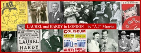 Laurel and Hardy in London