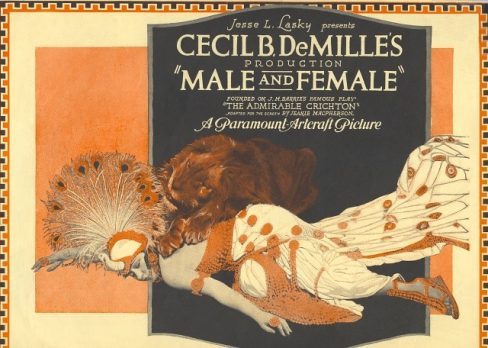 Male and Female poster